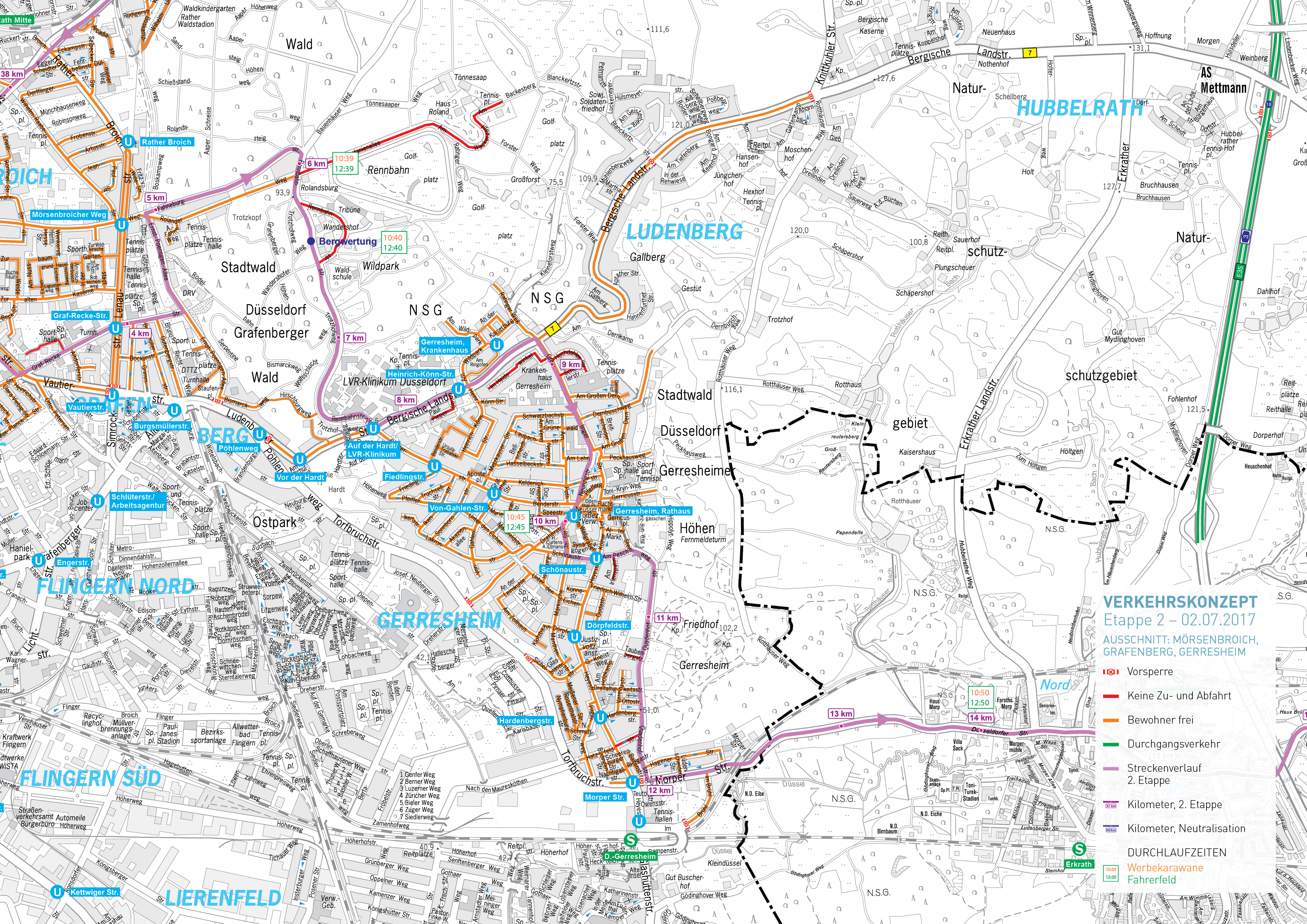 Aktualisierte Verkehrsinfos Für Bewohner Landeshauptstadt Düsseldorf
