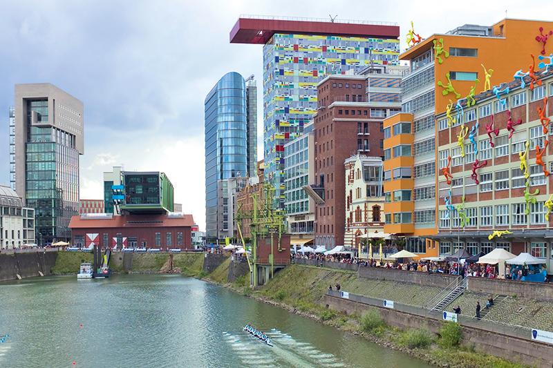 Medienhafen Landeshauptstadt Dusseldorf