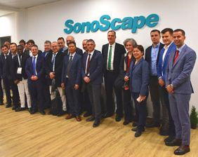 SonoScape GmbH Opening Ceremony, November 13th in Dusseldorf