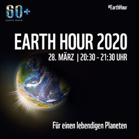 Das Social-Media-Bild zur Earth Hour. Quelle: WWF