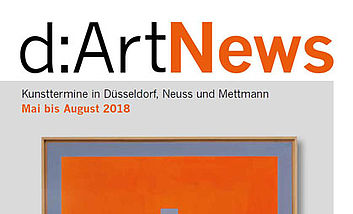 Cover D:art News  Mai bis August