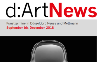 Cover D:art News September bis Dezember