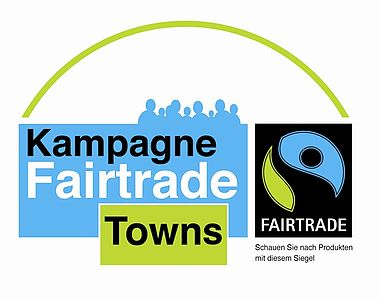 Logo der Kampagne Fairtrade Towns © www.fairtrade-towns.de