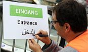 Düsseldorf hilft Flüchtlingen