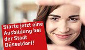 Eine Ausbildung starten bei der Stadt Düsseldorf