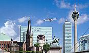 Wirtschaftsstandort / Business location Düsseldorf