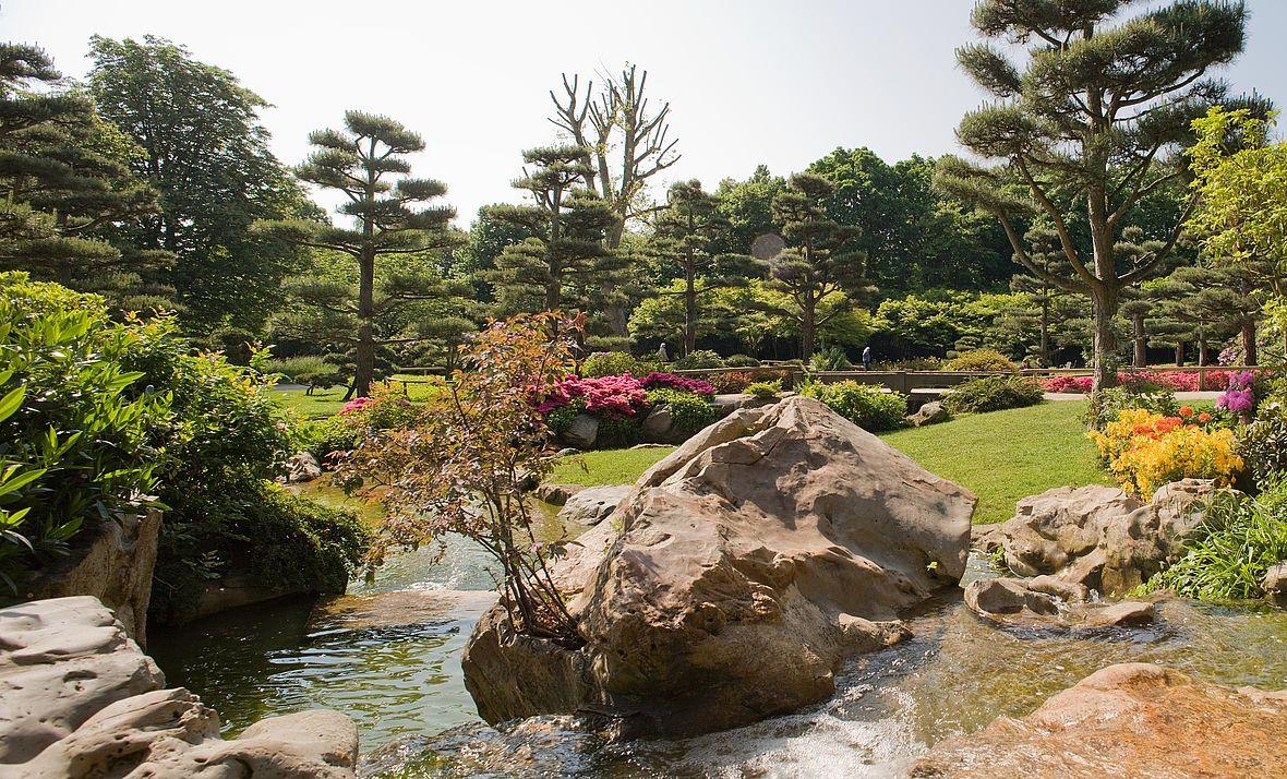 Japanischer Garten Landeshauptstadt Düsseldorf