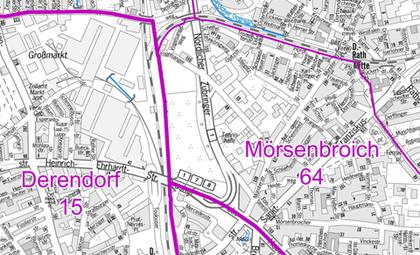 Düsseldorf Karte.Karten Landeshauptstadt Düsseldorf