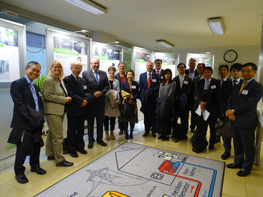 "The 4th ""Japan Get-Together"" took place at the Lausward Power Plant of the Municipal Utilities company of Düsseldorf (Stadtwerke)"