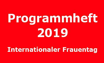 Programmheft 2019 Internationaler Frauentag