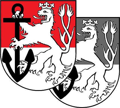 Wappenzeichen Für Privaten Gebrauch Landeshauptstadt Düsseldorf