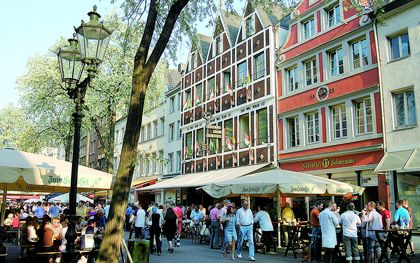 Quaint breweries in Bolkerstraße
